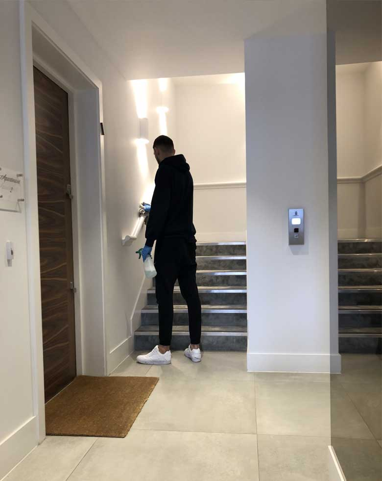 residential cleaning London